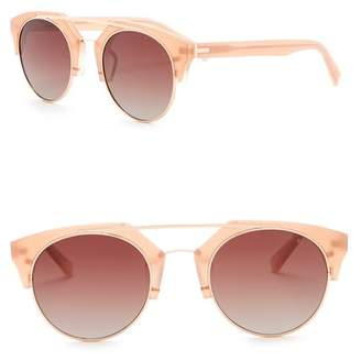 Ted Baker Polarized 50mm Clubmaster Sunglasses