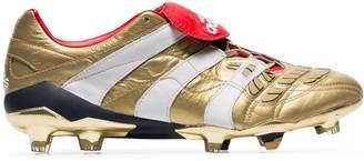 adidas gold X Zidane Predator Accelerator leather football boots