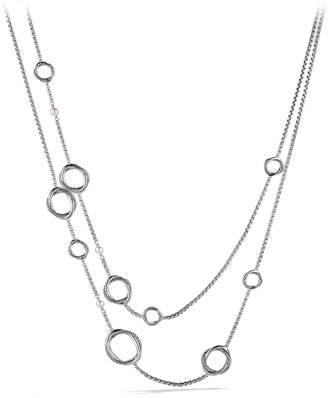 David Yurman 'Infinity' Necklace with Pearls