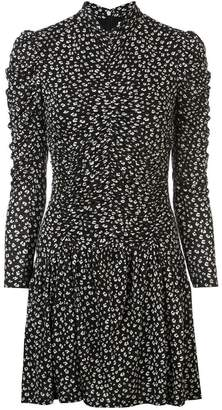 Rebecca Taylor printed flared dress