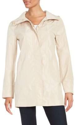 Ellen Tracy Petite Plus Packable Rain Coat