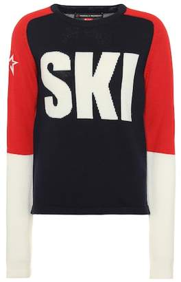 Perfect Moment Ski wool sweater