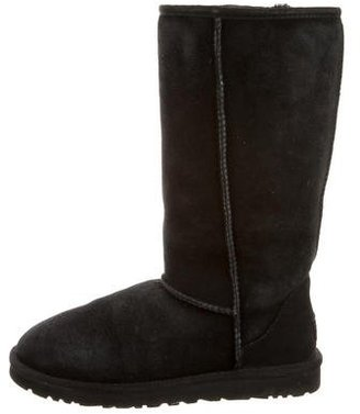 UGG Australia Shearling Mid-Calf Boots $90 thestylecure.com
