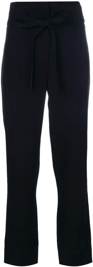Theory tie waist trousers