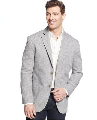 Tasso Elba Men's Linen-Blend Sport Coat, Only at Macy's $129 thestylecure.com
