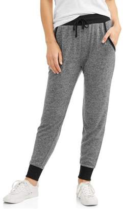 Concepts Women's Soft Jogger with Ribbed Trim