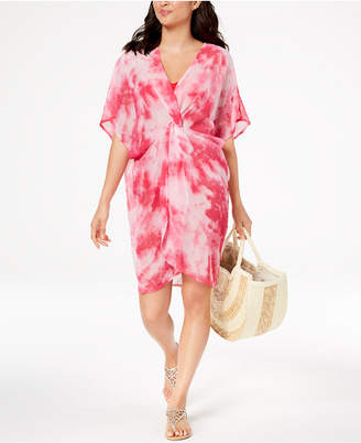Betsey Johnson Knot Today Twist-Front Poncho