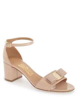 Women's Salvatore Ferragamo Block Heel Bow Sandal