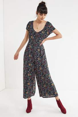 Urban Outfitters Lorelai Button-Down Jumpsuit