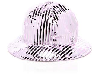 Maison Michel Mara Coated-Cotton Bucket Hat