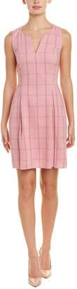 Julie Brown Wool-Blend A-Line Dress