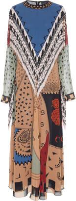 Etro Mari Fringe Maxi Dress