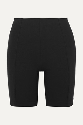 Ninety Percent Net Sustain Stretch-jersey Shorts - Black