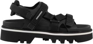 DSQUARED2 Tech Fabric And Leather Sandal
