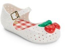 Baby's Furadinha Cherry Mary Jane Flats