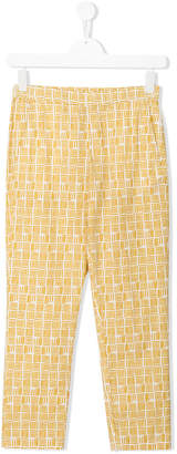 Hartford Kids TEEN straight-leg trousers