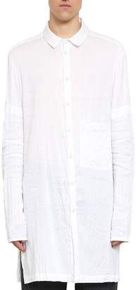 Lost & Found Ria Dunn Cotton And Linen Oversized Shirt
