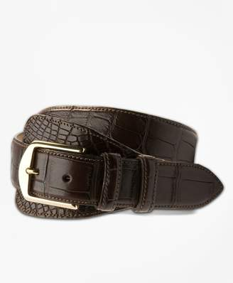 Brooks Brothers Alligator Tab Belt