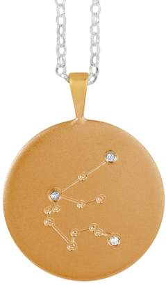 Harry Rocks - Gold Aquarius Constellation Necklace & Diamonds