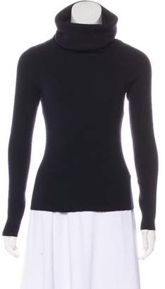 Celine Rib Knit Turtleneck Sweater