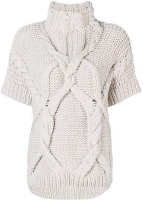 Lorena Antoniazzi coarse knitted sweater