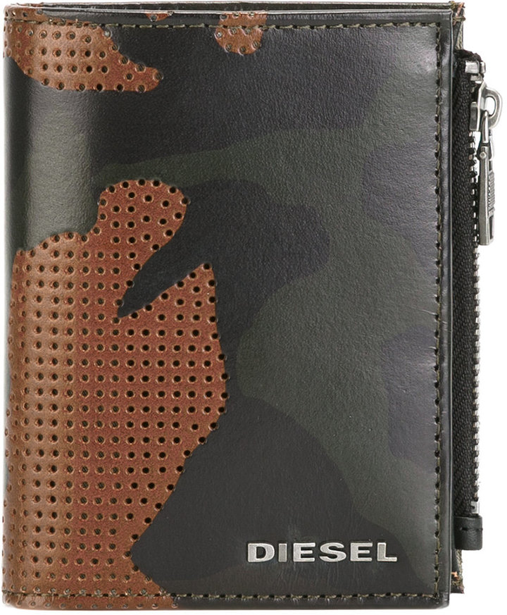 DieselDiesel camouflage wallet