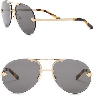 Karen Walker Love Hangover 65mm Aviator Sunglasses
