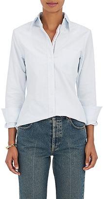 Thom Browne Women's Striped Cotton Shirt $395 thestylecure.com