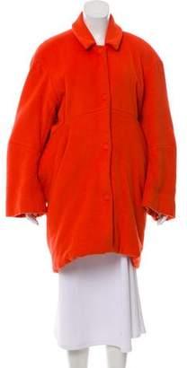 Acne Studios Alpaca & Wool Oversize Coat
