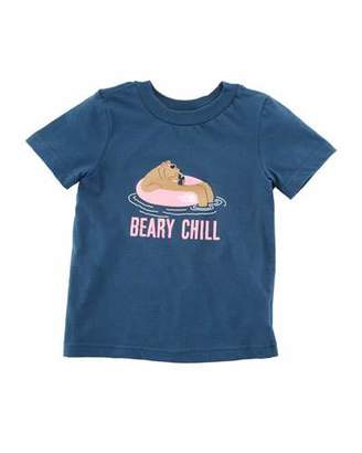 The North Face Beary Chill Short-Sleeve Graphic Tee, Size 2-4T