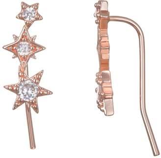 Lauren Conrad Triple Star Nickel Free Earrings