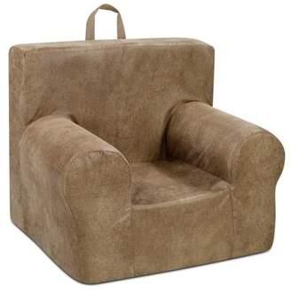 Nougat Kangaroo Trading Co. Weston Grab-n-go Kid's foam Chair with handle - Cortez no welt)