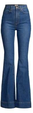 Alice + Olivia Jeans Beautiful High-Rise Bell Bottom Jeans