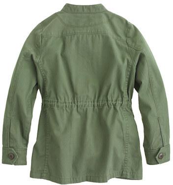 J.Crew Girls' Lightweight military jacket