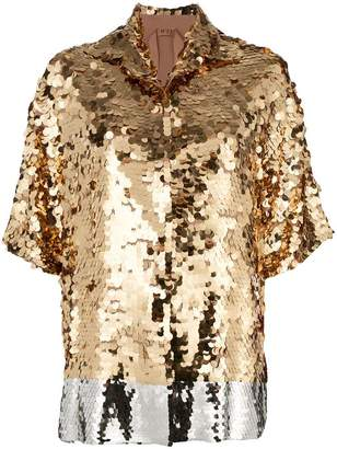 No.21 sequin shirt