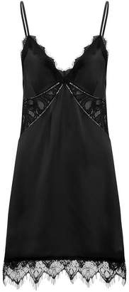 Jonathan Simkhai Night Night By Lace Slip Mini Dress