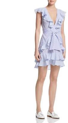 Saylor Aria Ruffled Mini Dress