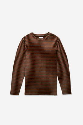 Saturdays NYC Alek Stripe Long Sleeve T-Shirt