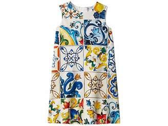 Dolce & Gabbana Knit Maioliche Dress (Little Kids/Big Kids)