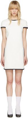 Thom Browne White A-Line Shift Dress $1,490 thestylecure.com