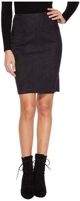 Kensie Scuba Suede Skirt KS0U6181 Women's Skirt