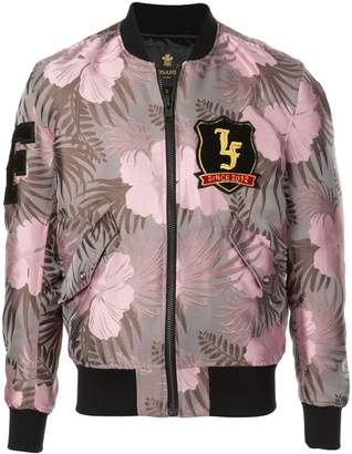 Lords And Fools purple bomber jacket
