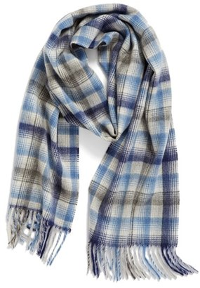 Women's Nordstrom Heritage Plaid Cashmere Scarf $99 thestylecure.com
