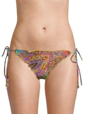 Luli Fama Multicolored Bikini Bottom