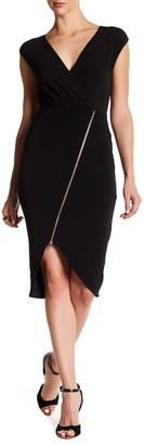 Rachel Rachel Roy Cap Sleeve Zip Front Dress $119 thestylecure.com