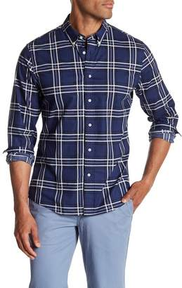 Slate & Stone Regular Fit Plaid Long Sleeve Shirt