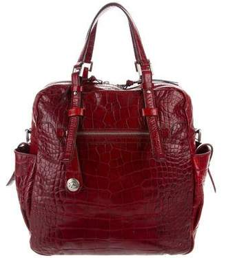 Francesco Biasia Embossed Shoulder Bag