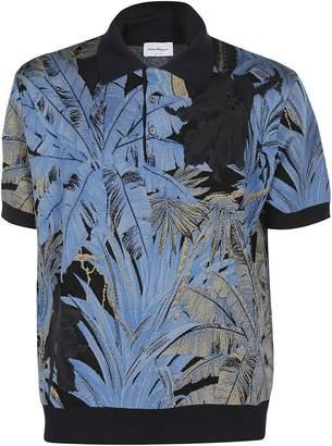 Salvatore Ferragamo Printed Polo Shirt