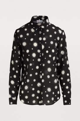 RED Valentino Silk crepe blouse