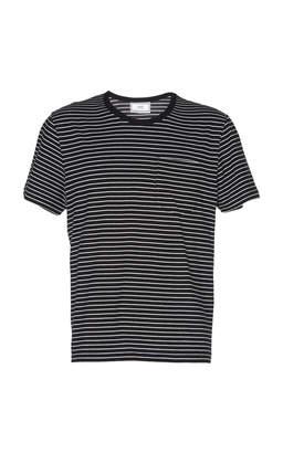 Ami Striped Crewneck T-shirt